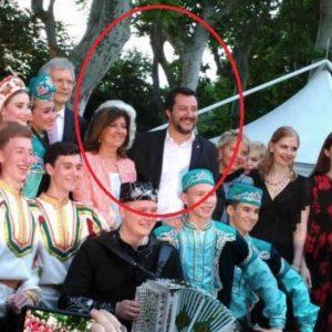 """Casellati, fake social. """"Con Salvini alla festa di Lombardia Russia"""". Ma era un evento dell'Ambasciata FOTO"""
