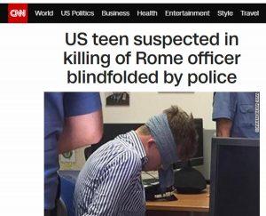 """Foto del ragazzo bendato in caserma, per i media Usa è """"scioccante"""" e """"atto illegale"""""""