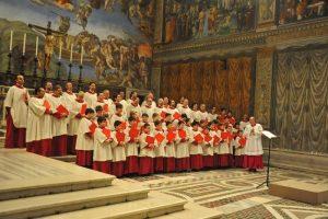 coro cappella sistina massimo palombella