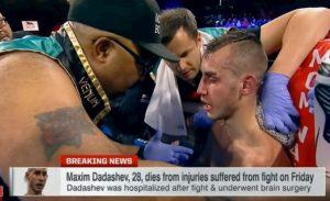 Maxim Dadashev, l'allenatore voleva interrompere l'incontro ma il pugile si è rifiutato. Poi è morto