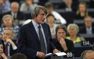 David Sassoli (Pd) eletto presidente del Parlamento Ue (foto Ansa)