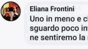 Eliana frontini post contro Mario Cerciello Rega
