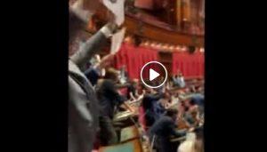 protesta Pd Aula voto
