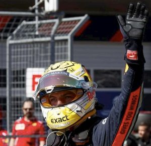 Formula 1 Germania ordine arrivo Verstappen Kvjat Stroll Bottas