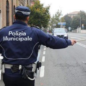 La Polizia Municipale in una foto d'archivio (foto Ansa).