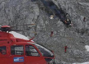 austria aereo si schianta sulle montagne in Tirolo