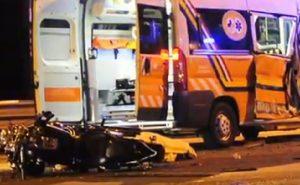 Castiglione (Ravenna), moto contro ambulanza: muore un ragazzo di 28 anni
