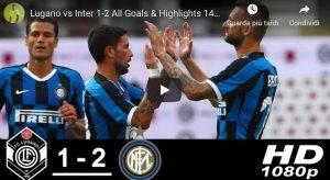 Inter, buona la prima per Conte: 2-1 al Lugano con magie di Sensi e Brozovic
