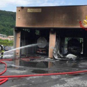 isolabuona cisterne a fuoco in azienda