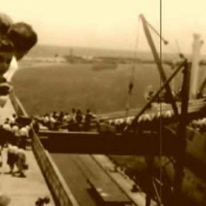 Un frame di un documentario sull'emigrazione italiana negli Stati Uniti d'America (da YouTube)