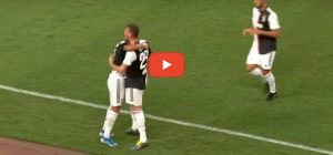 Juventus-Inter 1-1 video gol highlights youtube cristiano ronaldo de ligt