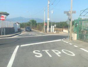 Boscoreale (Napoli), errore nella segnaletica: lo Stop diventa Stpo FOTO