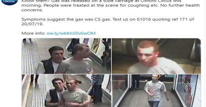 Le immagini delle telecamere di sicurezza che hanno immortalato i due ricercati