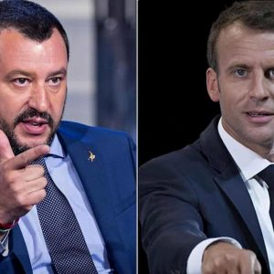 Emmanuel Macron senza pudore, stavolta Matteo Salvini il bullo ha ragione