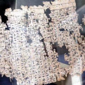 Un papiro egizio (foto d'archivio Ansa)