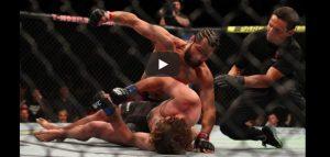 UFC, la ginocchiata di Jorge Masvidal è letale: avversario ko dopo 5 secondi, è record. VIDEO