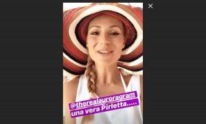 Michelle Hunziker e Aurora Ramazzotti su Instagram
