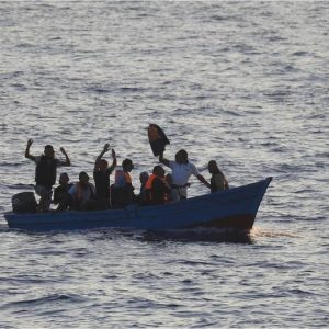 Scafista decapita migrante