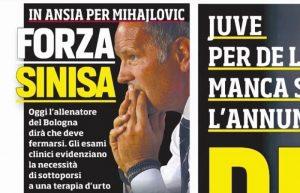 Sinisa Mihajlovic è malato, deve curarsi: addio al Bologna o breve stop?