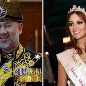 Malesia, il sultano Muhammad V e Miss Mosca hanno divorziato: lui aveva abdicato per lei
