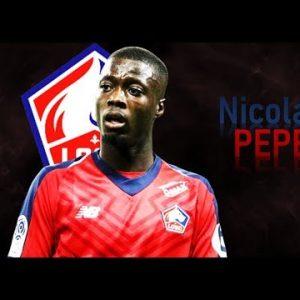 Napoli Pepé offerta Lille James Rodriguez