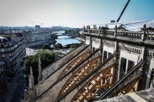 Notre Dame, tetto a rischio per caldo record