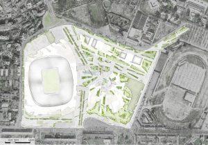 Nuovo San Siro, foto del progetto da 1.2 miliardi di investimenti privati