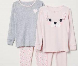 Nuovi Prodotti fb948 240eb H&M ritira dal mercato due modelli di pigiami per bambini ...