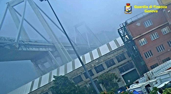 Ponte Morandi, VIDEO inedito: pilone cede e crolla tutto2