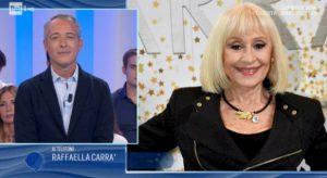 """Io e Te, Raffaella Carrà omaggia il produttore Rai Paolo De Andreis: """"Un uomo fantastico"""""""