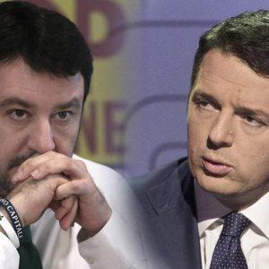 Salvini e Renzi, nome Matteo: destino di abili piazzisti ma inconcludenti