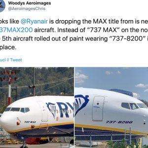 Ryanair taglierà voli per mancanza di aerei. Nuovo nome per il Boeing 737 Max?