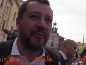 """Salvini risponde a Di Stefano: """"Io fuori forma? Omo di panza omo di sostanza"""" VIDEO"""