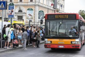 sciopero dei trasporti a Roma previsto per oggi, mercoledì 24 luglio