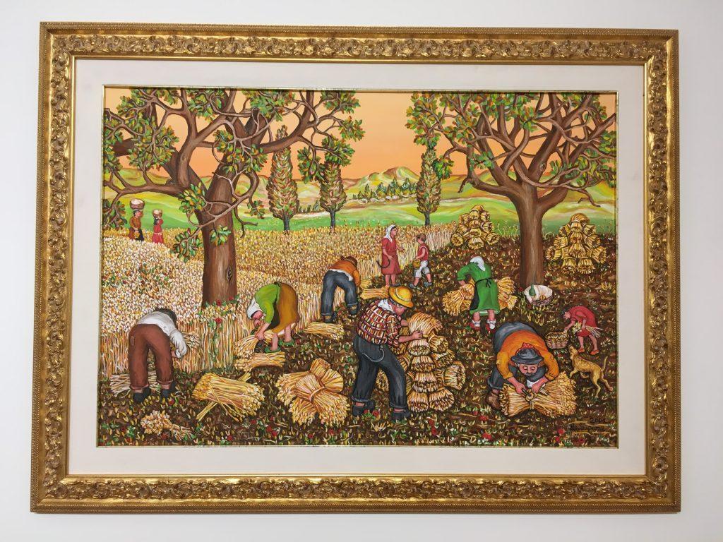 Annunziata Scipione, artista naïf e contadina, alla Fondazione Stelline di Milano