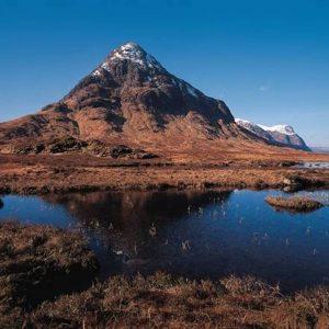 Un paesaggio della Scozia