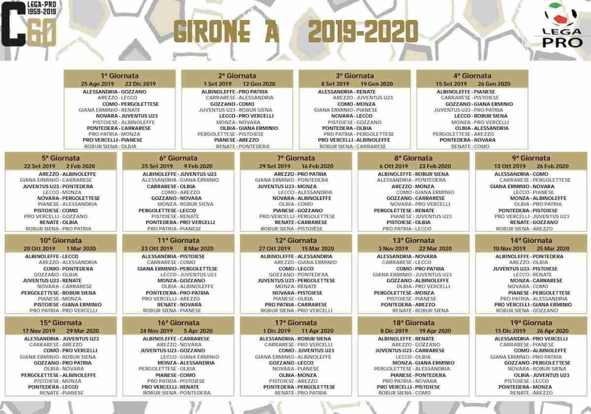 Calendario Scolastico 2020 20.Serie C 2020 18 Calendario