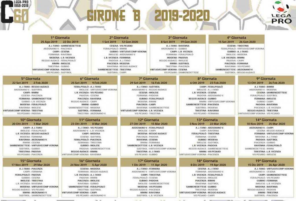 Sorteggio Calendario Serie C.Serie C Gironi A B E C Foto Calendario Sono Previste Due