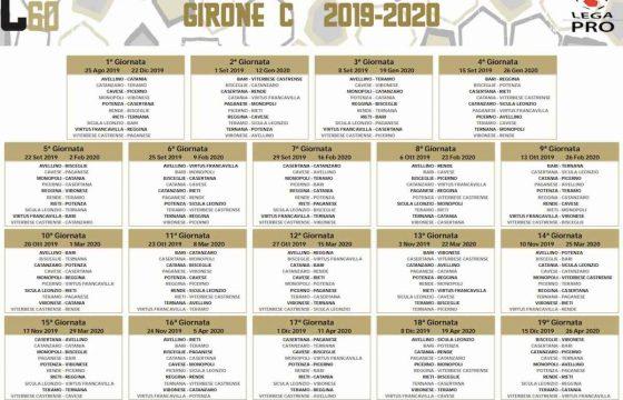 Calendario Lega Pro Girone A 2020 2020.Serie C 2019 2020 Girone A B C Calendario Foto Due Soste