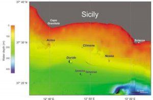 Vulcani sottomarini in Sicilia