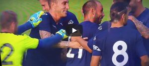 Soddimo video gol centrocampo Napoli-Cremonese youtube