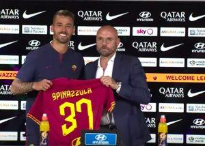 """Spinazzola: """"Higuain? Posso dirgli che a Roma si sta bene..."""""""
