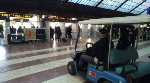 Firenze, crolla pensilina della stazione