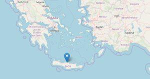 Terremoto Grecia, scossa sull'isoka di Creta