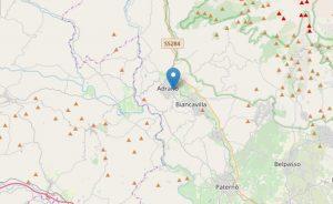 Adrano, scossa di terremoto del 3.9 registrata il mattino dell'8 luglio