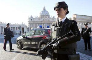 Carabinieri in Vaticano
