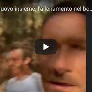 Totti e De Rossi si allenano insieme e pubblicano VIDEO su Instagram