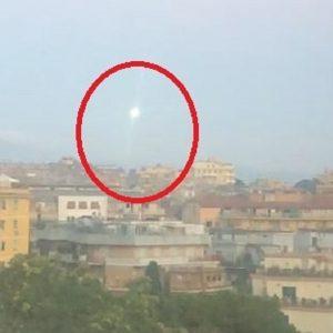 ufo a roma vicino tangenziale est