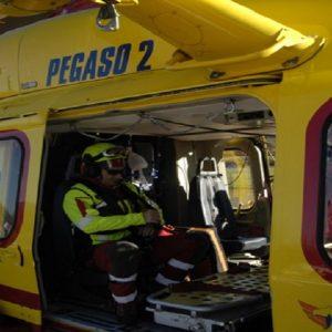 Una foto d'archivio dei soccorsi