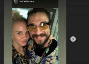 Veera Kinnunen e Osvaldo in vacanza insieme, FOTO su Instagram